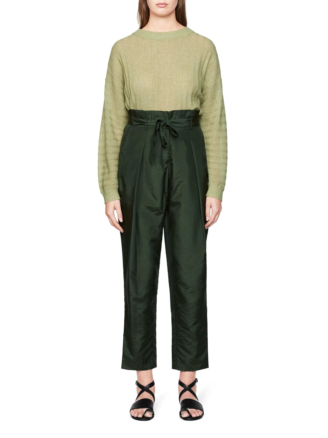 Aniara Trousers in Woodland from Tiger of Sweden