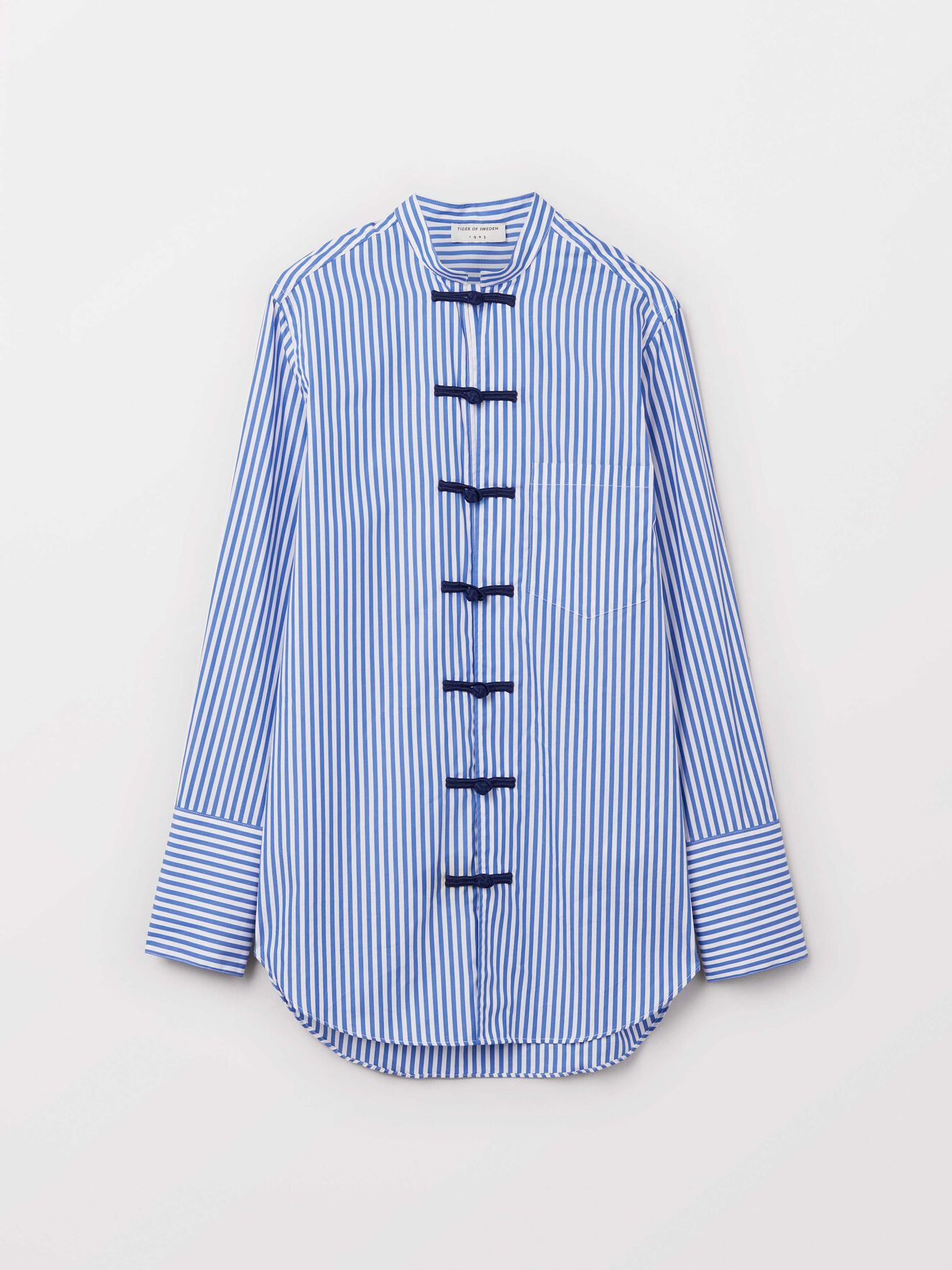 Gabrielle Shirt in Blue from Tiger of Sweden
