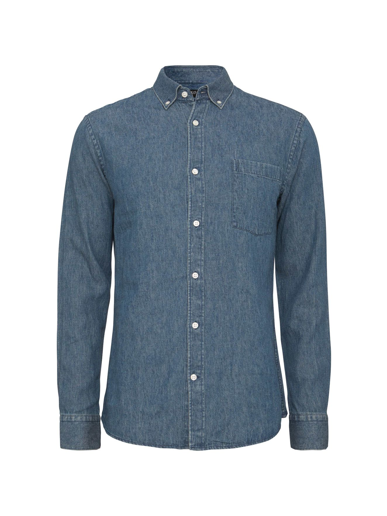 Donald 4 Shirt in Soft Blue Melange from Tiger of Sweden