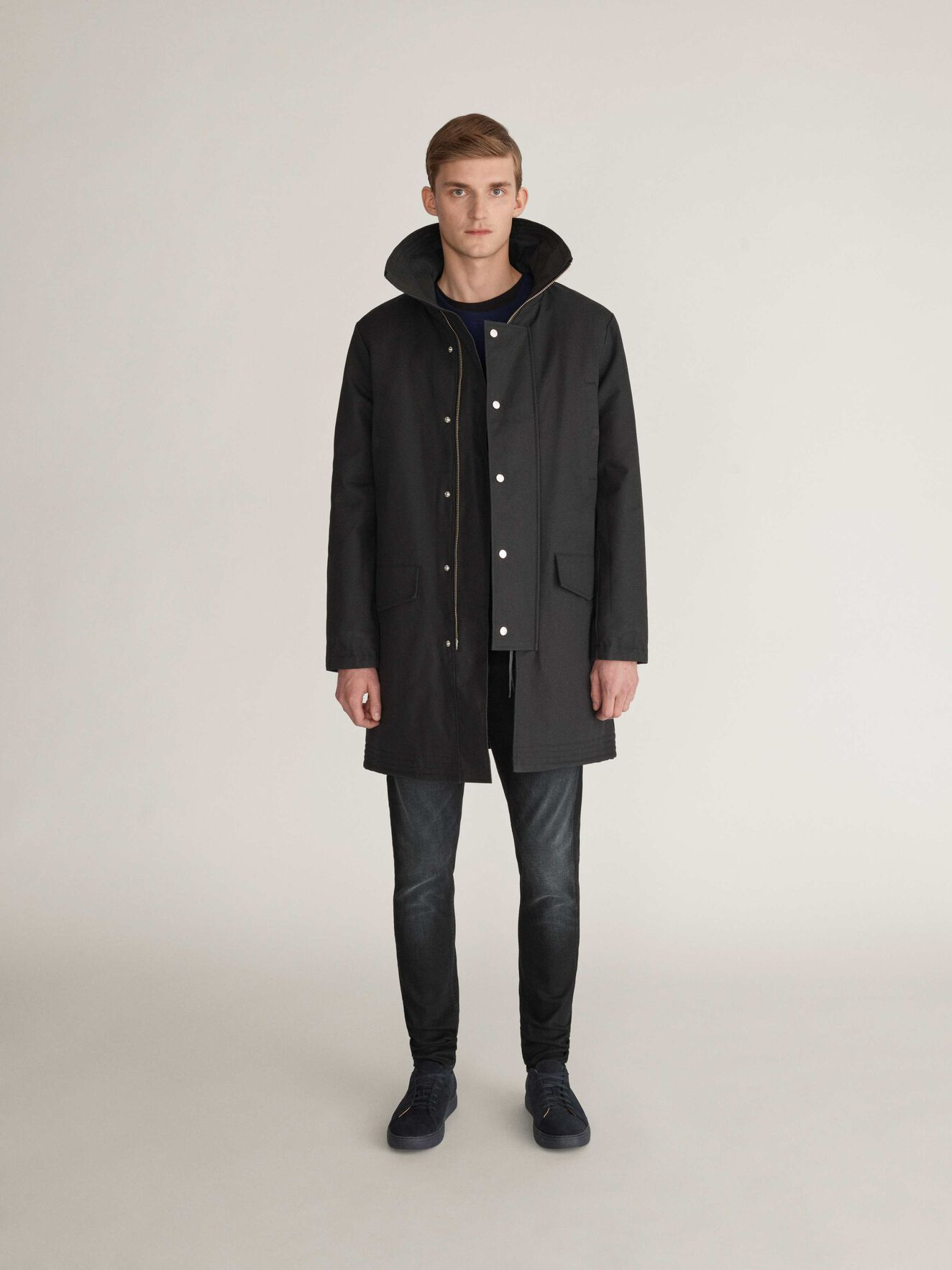 Contract Parka in Black from Tiger of Sweden