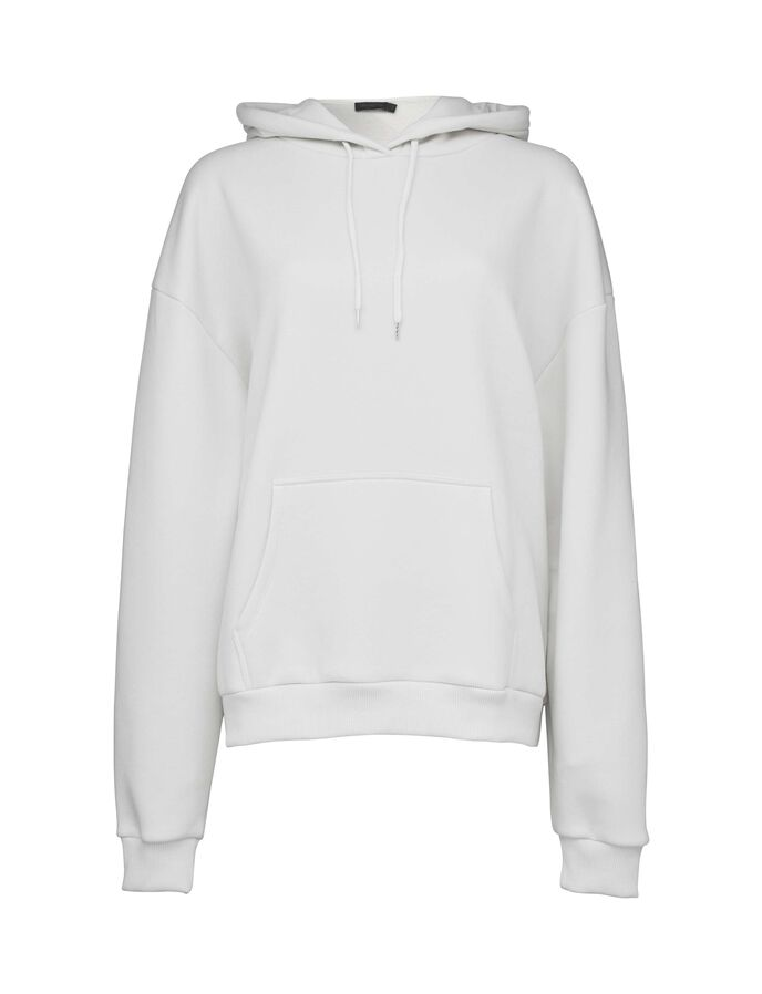 BIG TALK HOODIE in White Light from Tiger of Sweden