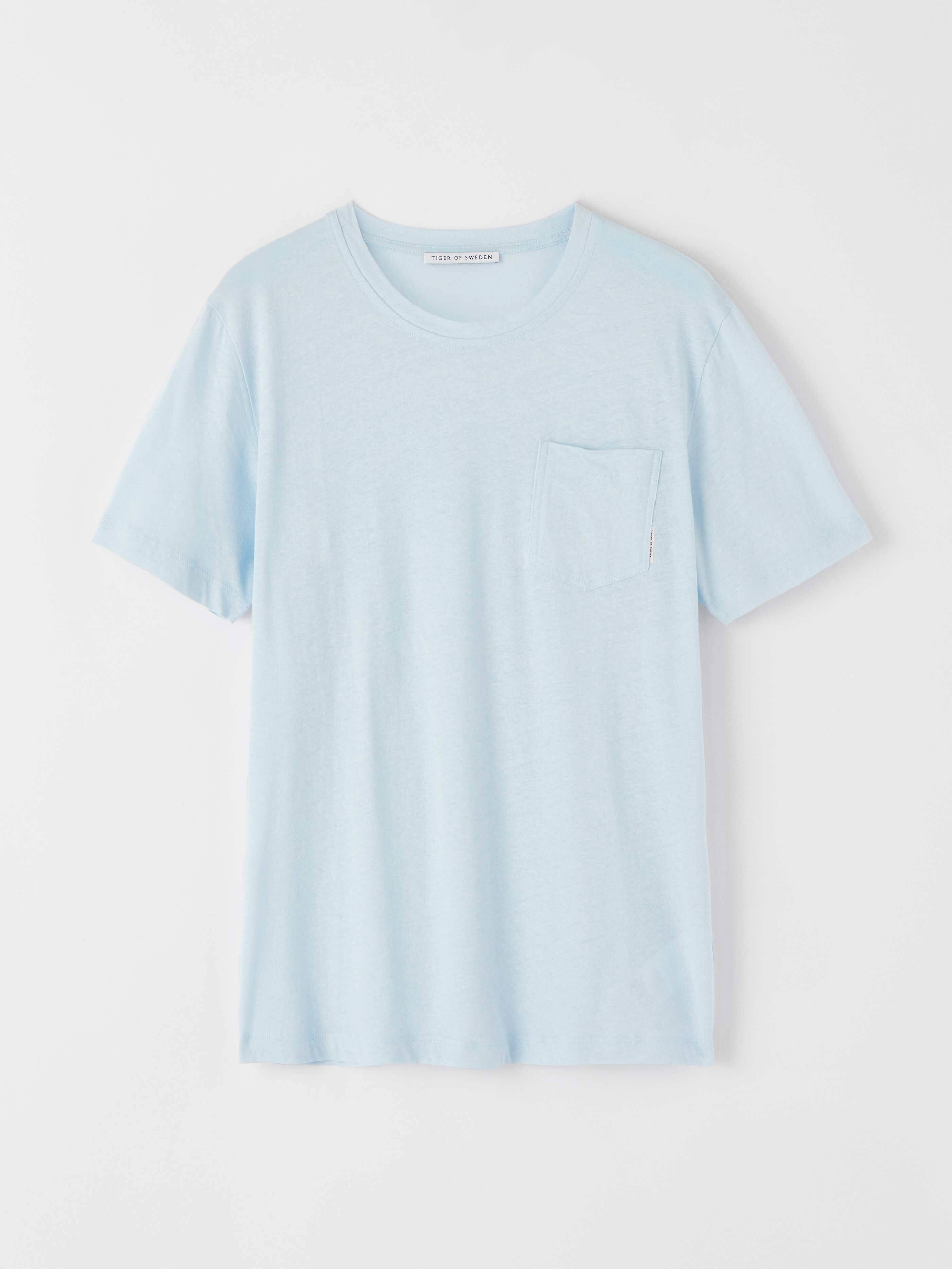 Tiger of Sweden DIDELOT - T-shirts - pastelblue