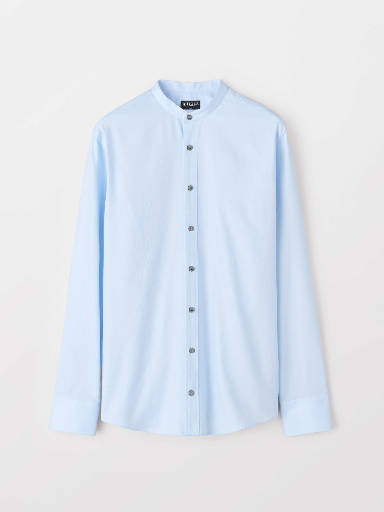 Ferante Shirt in Silver Blue from Tiger of Sweden