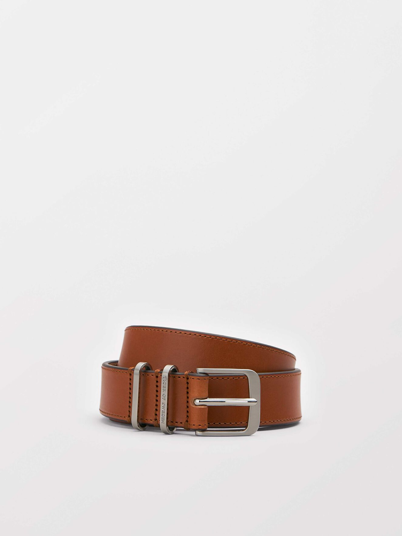 Cawen Belt in Light Brown from Tiger of Sweden