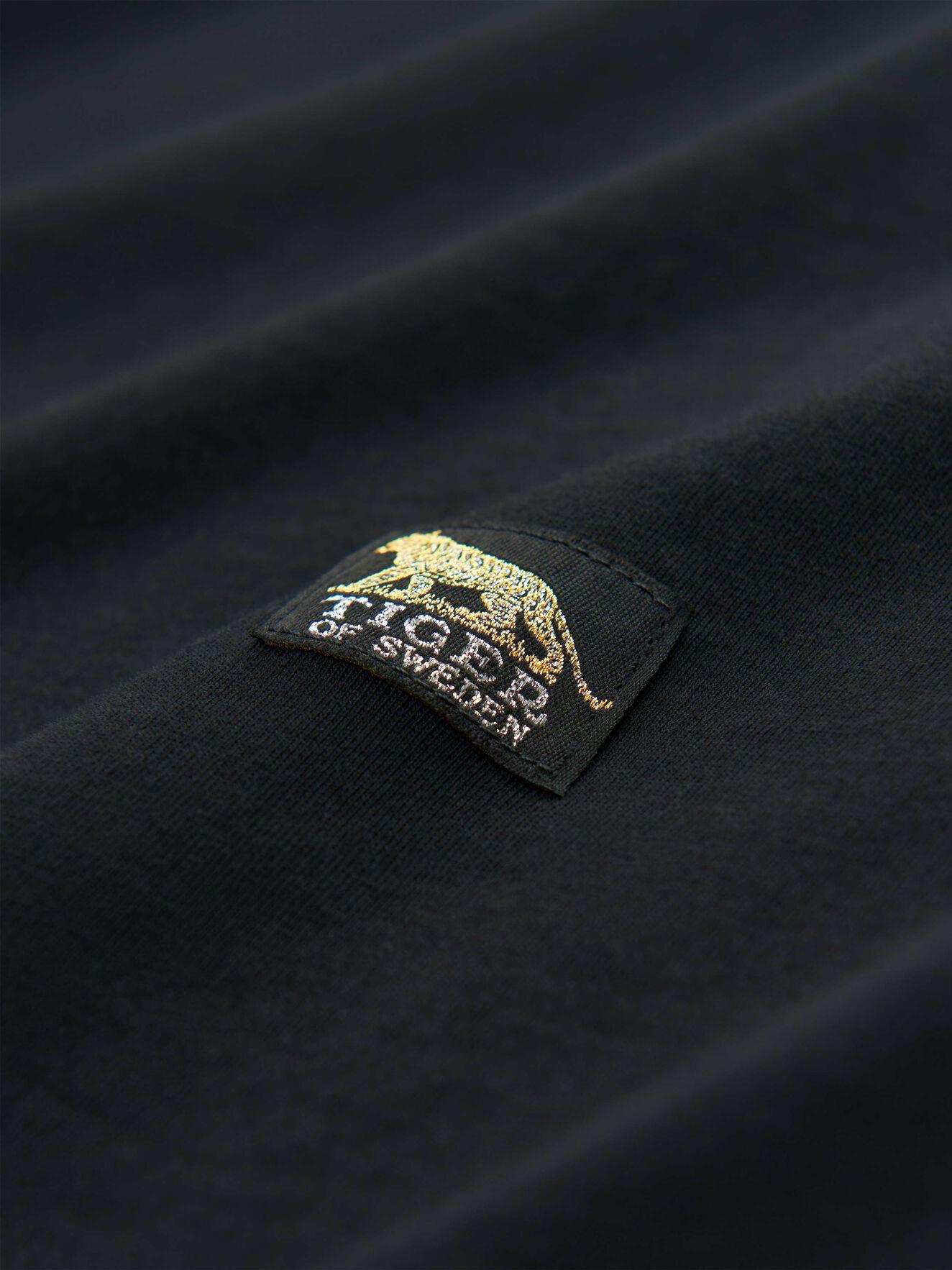 Dellana T-Shirt in Midnight Black from Tiger of Sweden