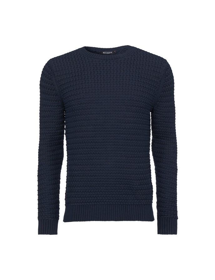 ESBEN  PULLOVER in Light Ink from Tiger of Sweden