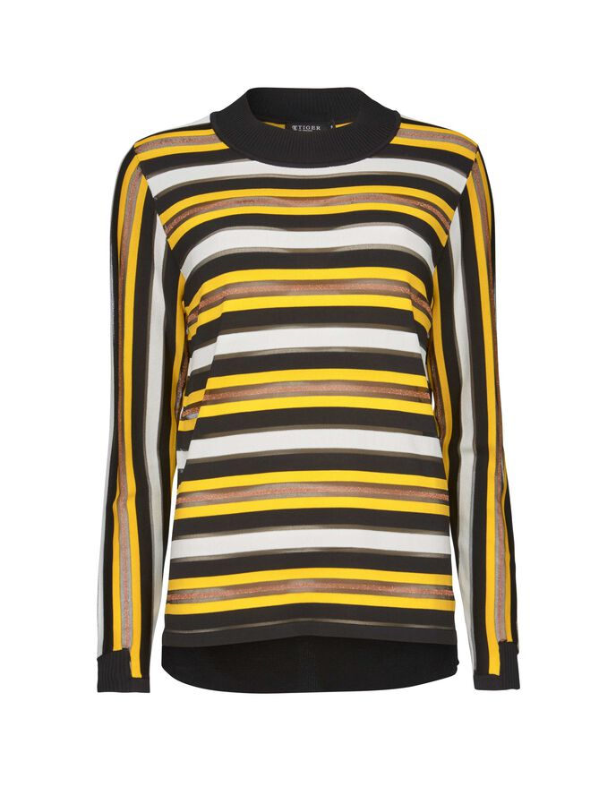 SHILOH S PULLOVER in Yellow from Tiger of Sweden