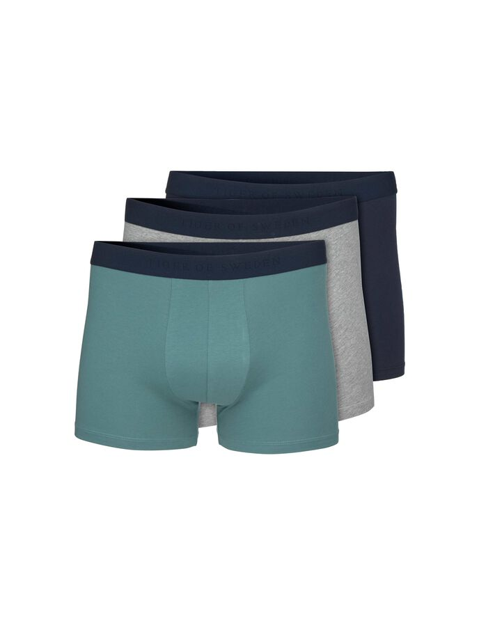 KNUTSFORD BOXERSHORTS in Grey melange from Tiger of Sweden