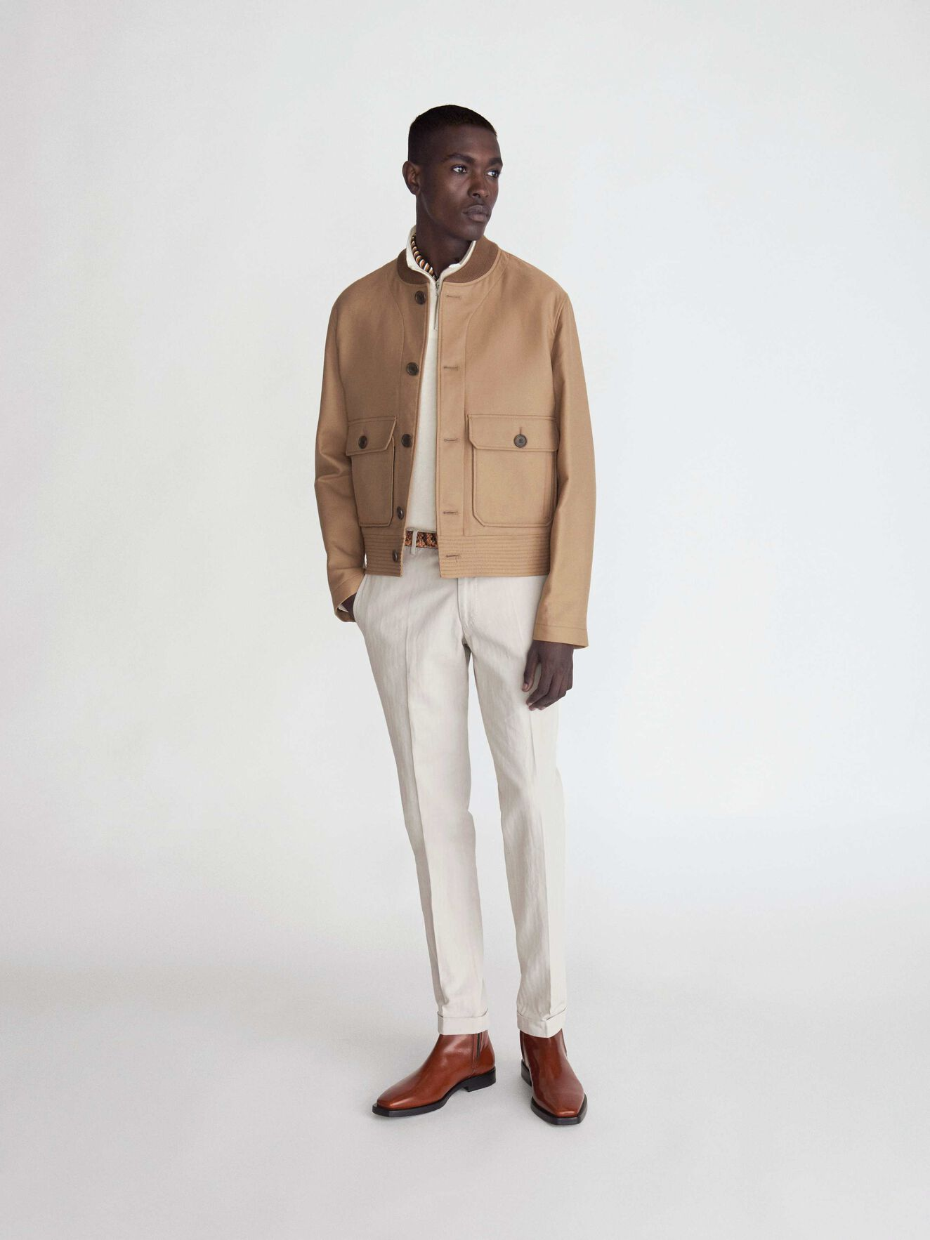 Oveja Jacket  in Macchiato from Tiger of Sweden