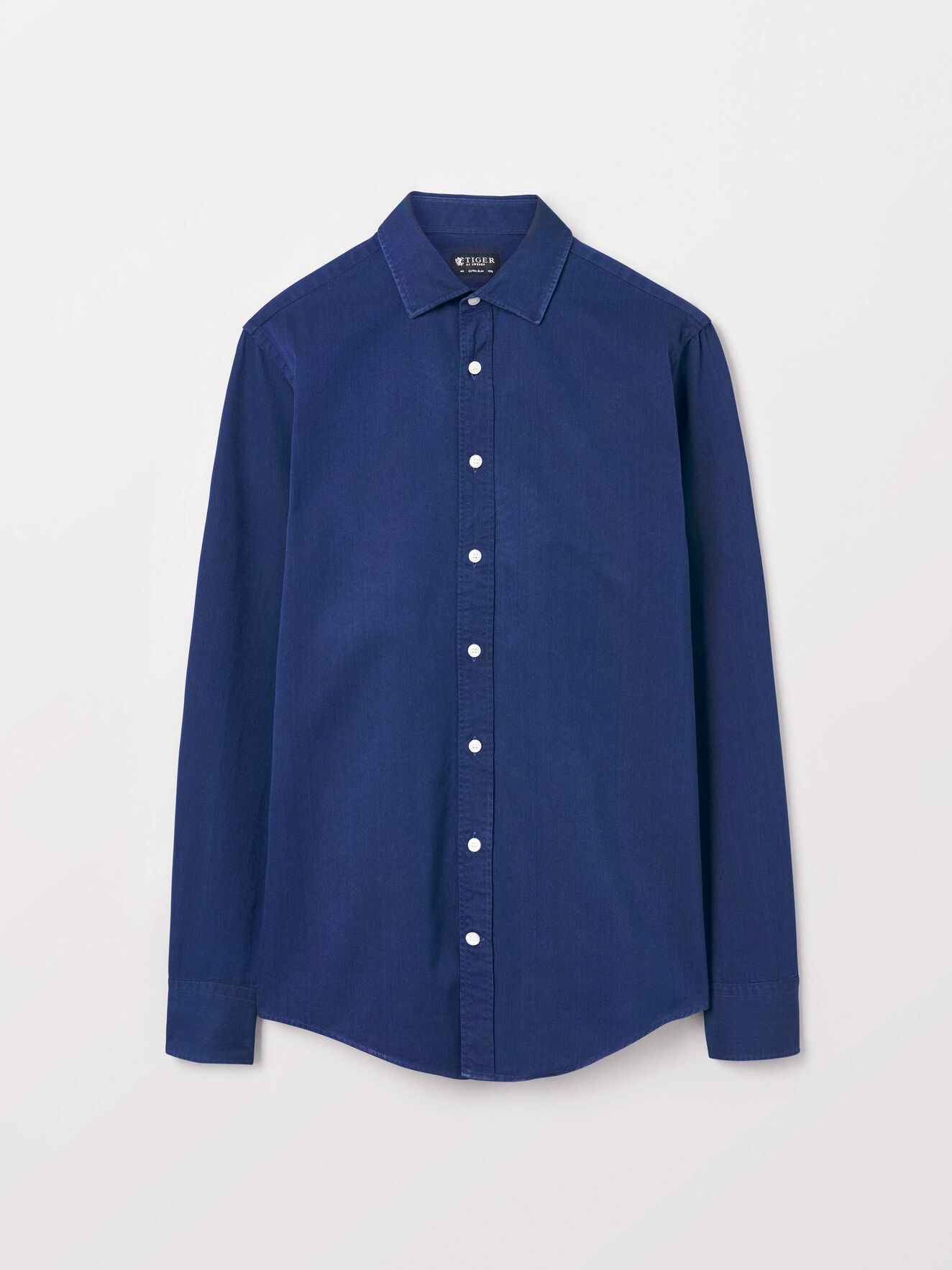 Fridolf Shirt in Royal Blue from Tiger of Sweden