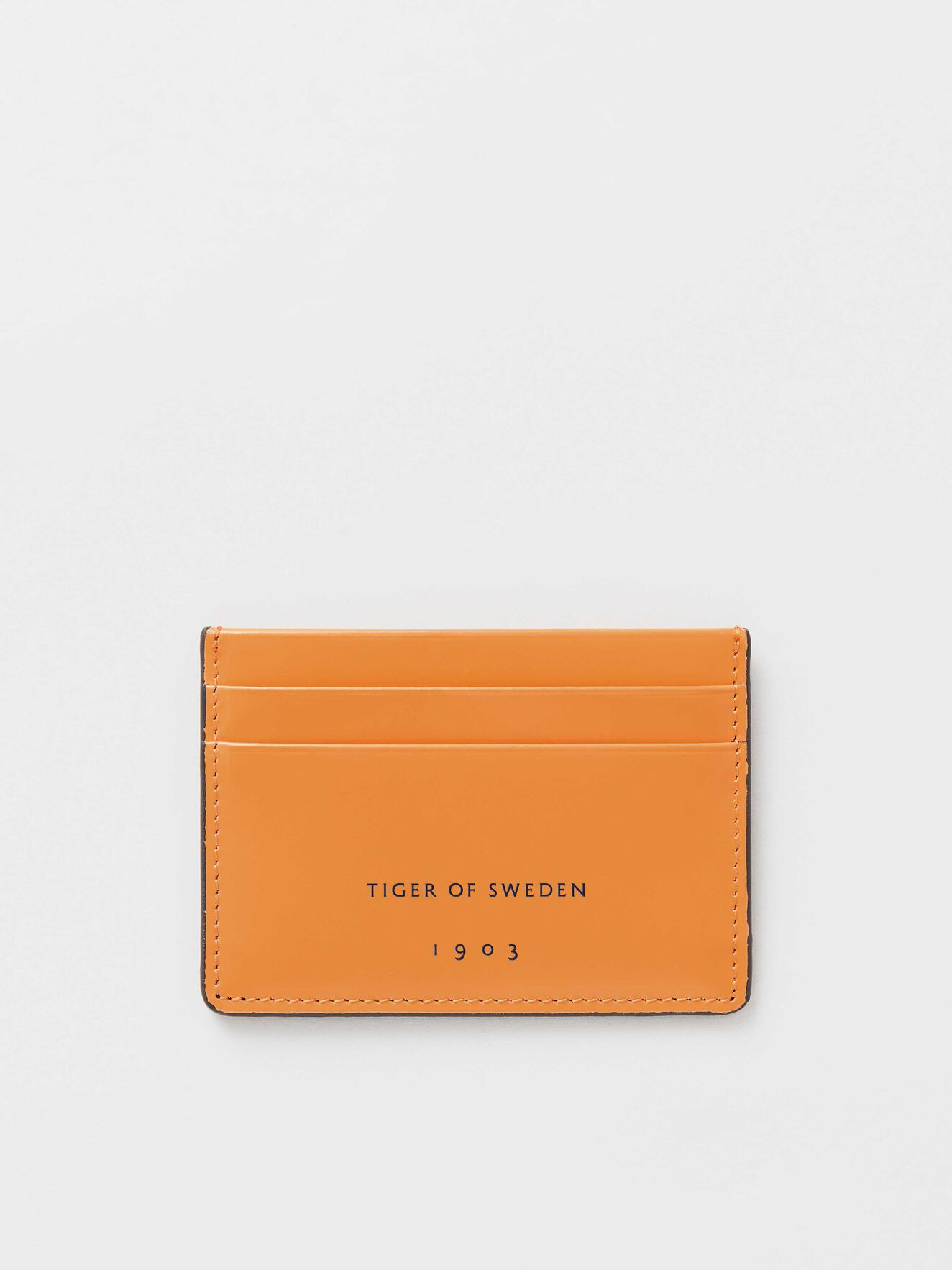 66163d5030d Wone Cardholder in Orange sorbet from Tiger of Sweden