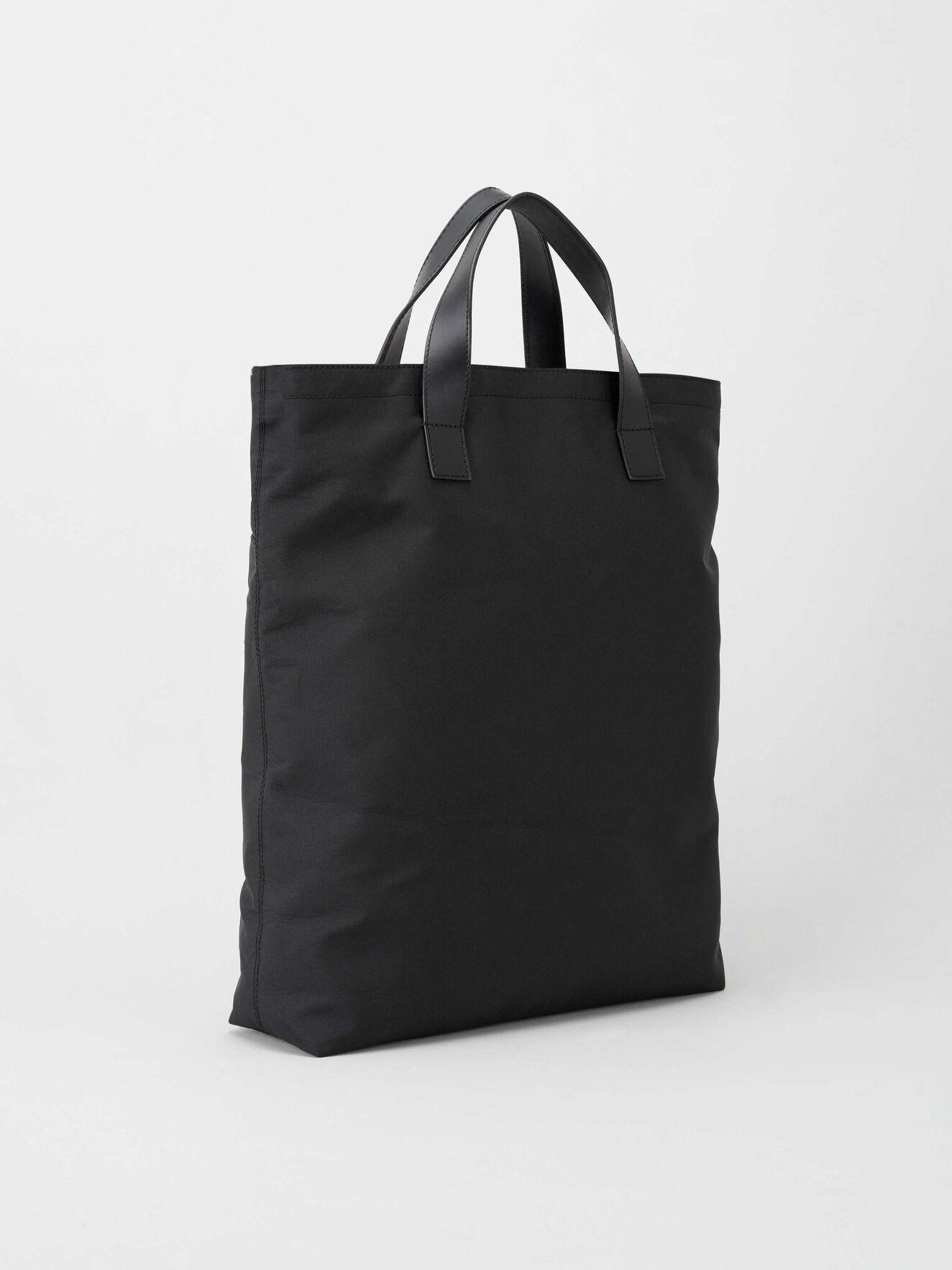 Lumberjack Bear Ornaments Reusable Reversible Washable Multi-use Cotton Tote Shopping Bag