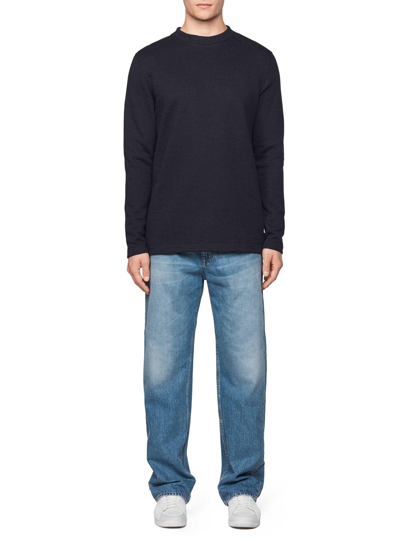 Zac Sweatshirt in Black from Tiger of Sweden