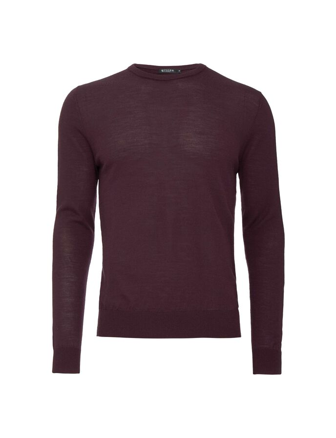 MATIAS PULLOVER in Dark Heather from Tiger of Sweden