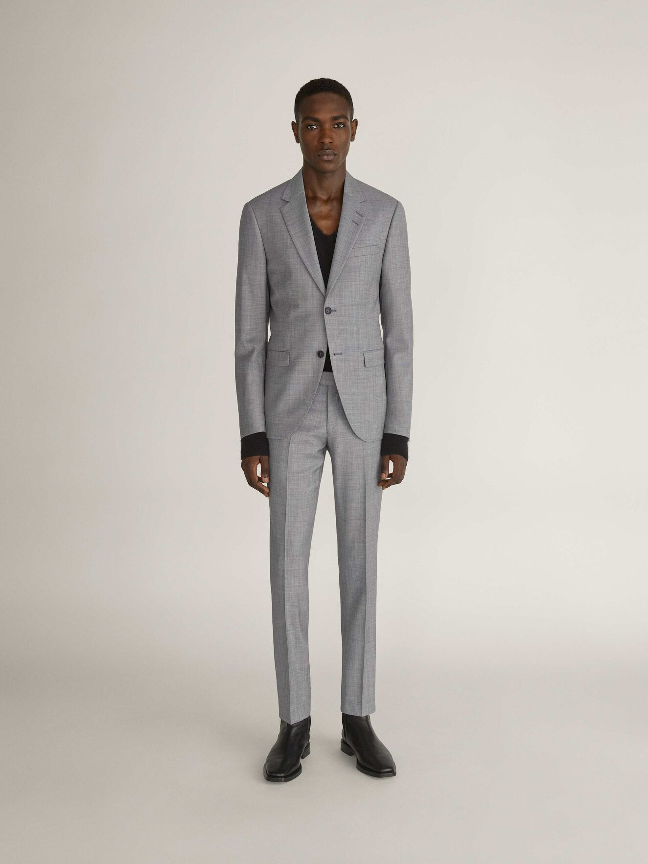 S.Jamonte Suit in Light grey melange from Tiger of Sweden