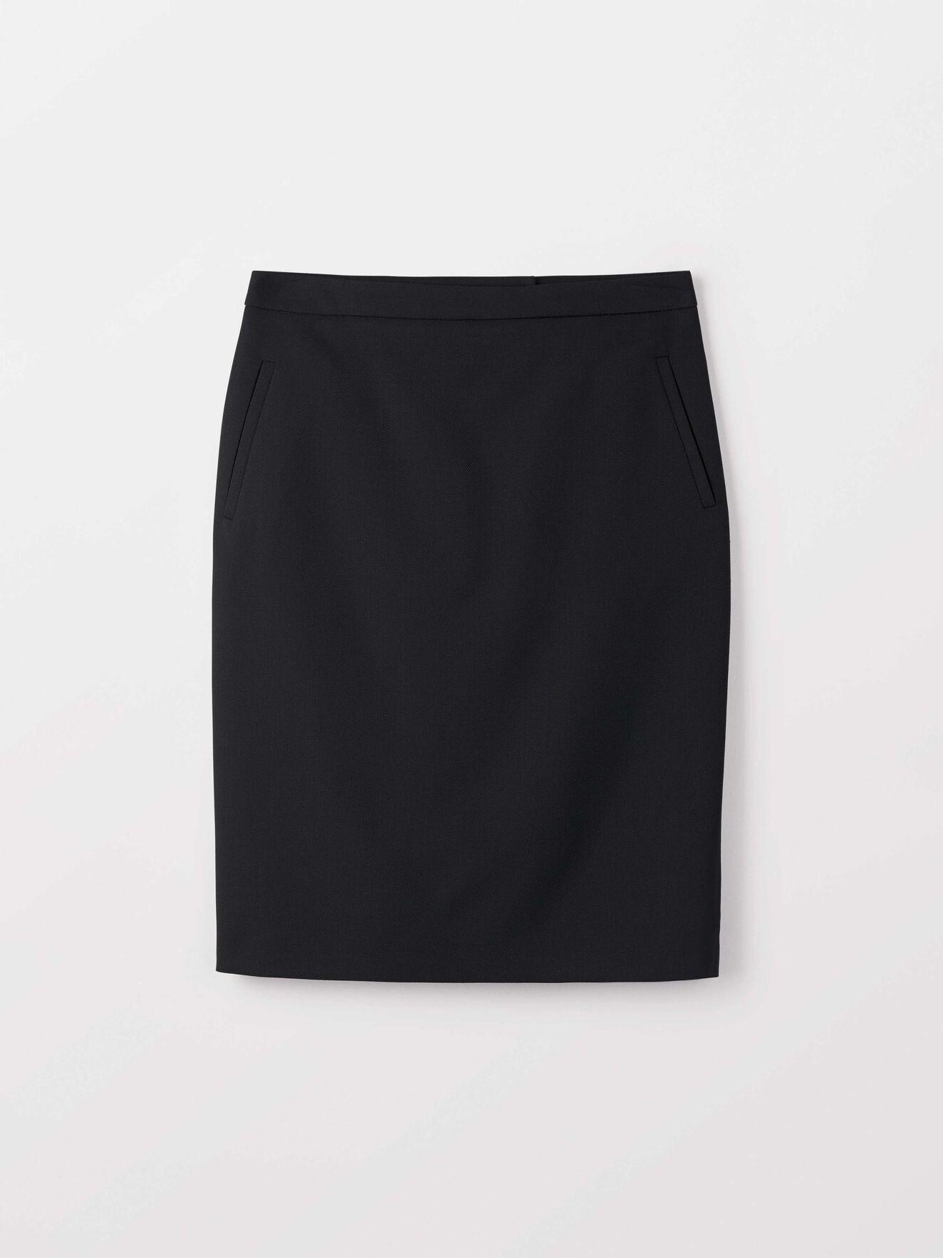 Erene Skirt in Night Black from Tiger of Sweden