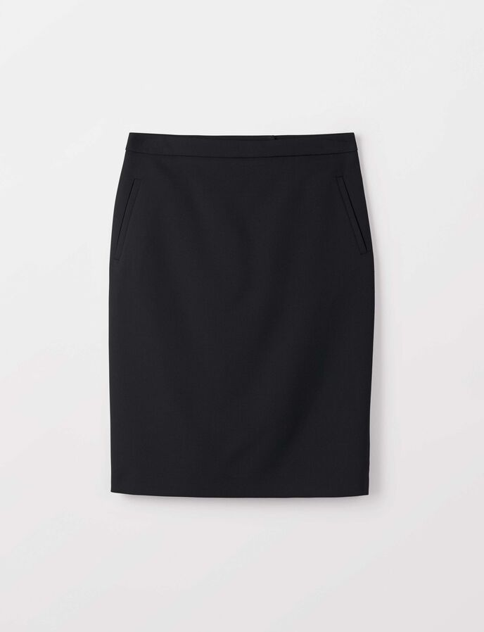 Erene skirt in Night Black from Tiger of Sweden