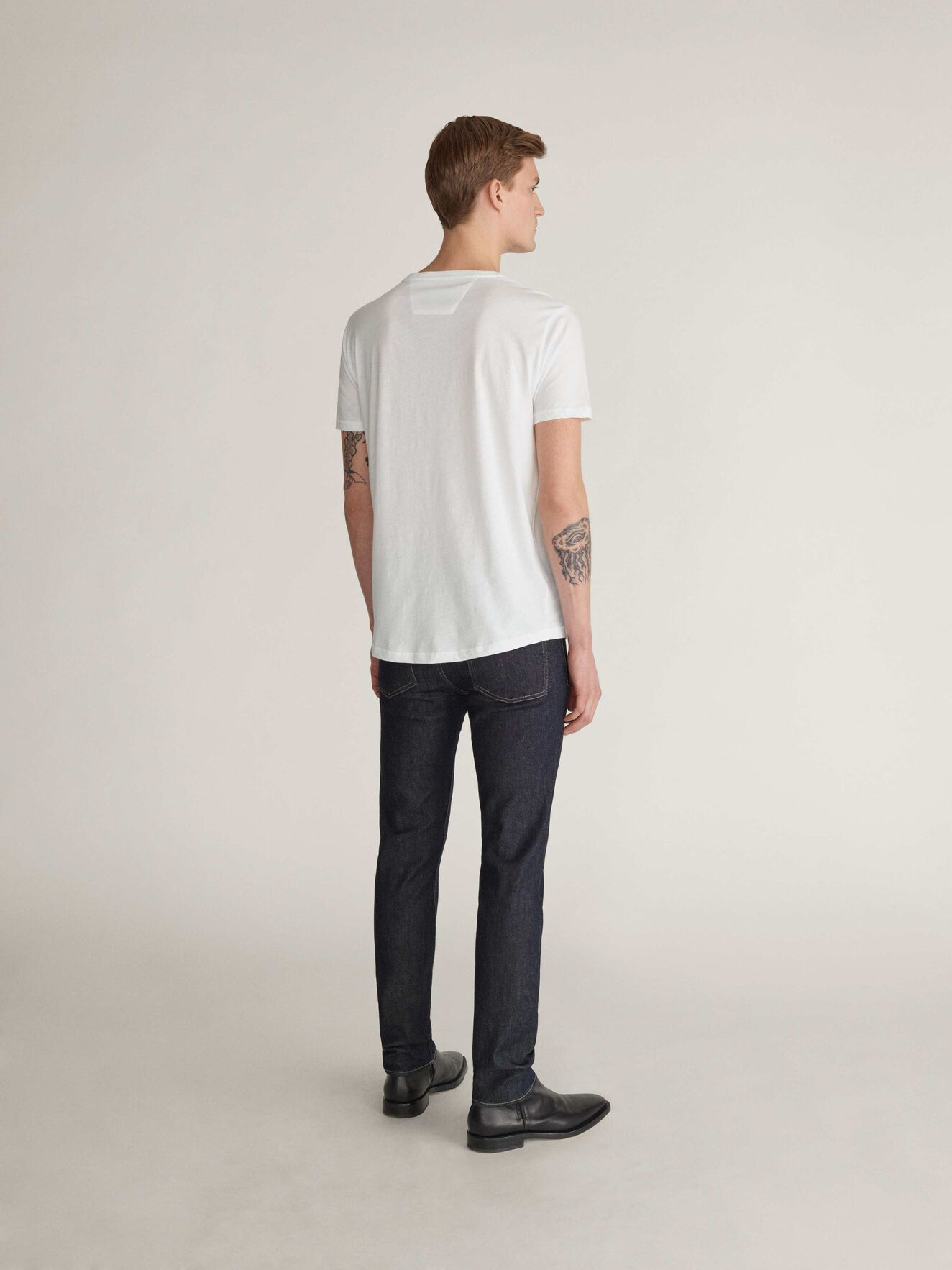Corey Sol T-Shirt in White from Tiger of Sweden