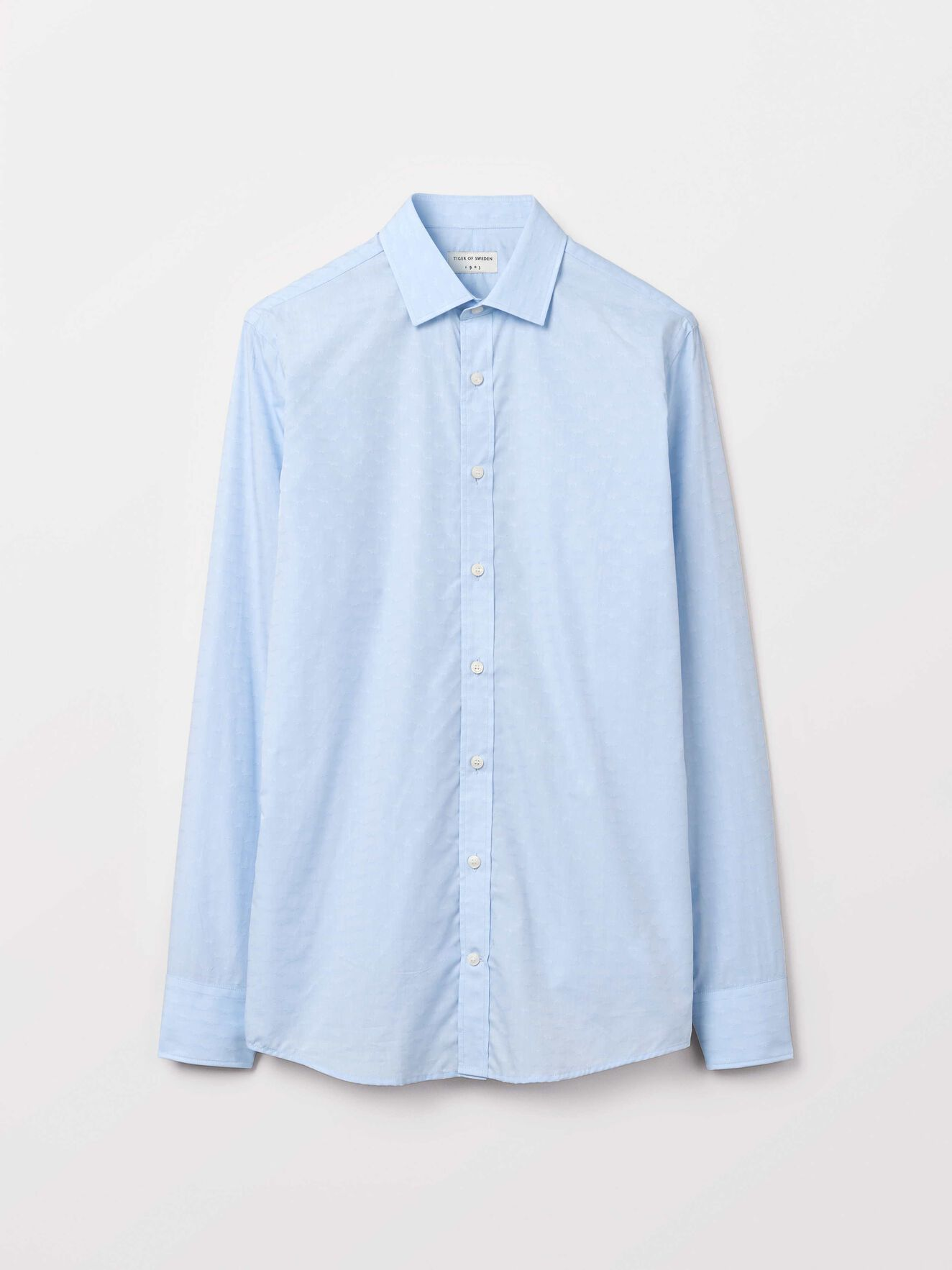 Fridolf Shirt in Airy Blue from Tiger of Sweden
