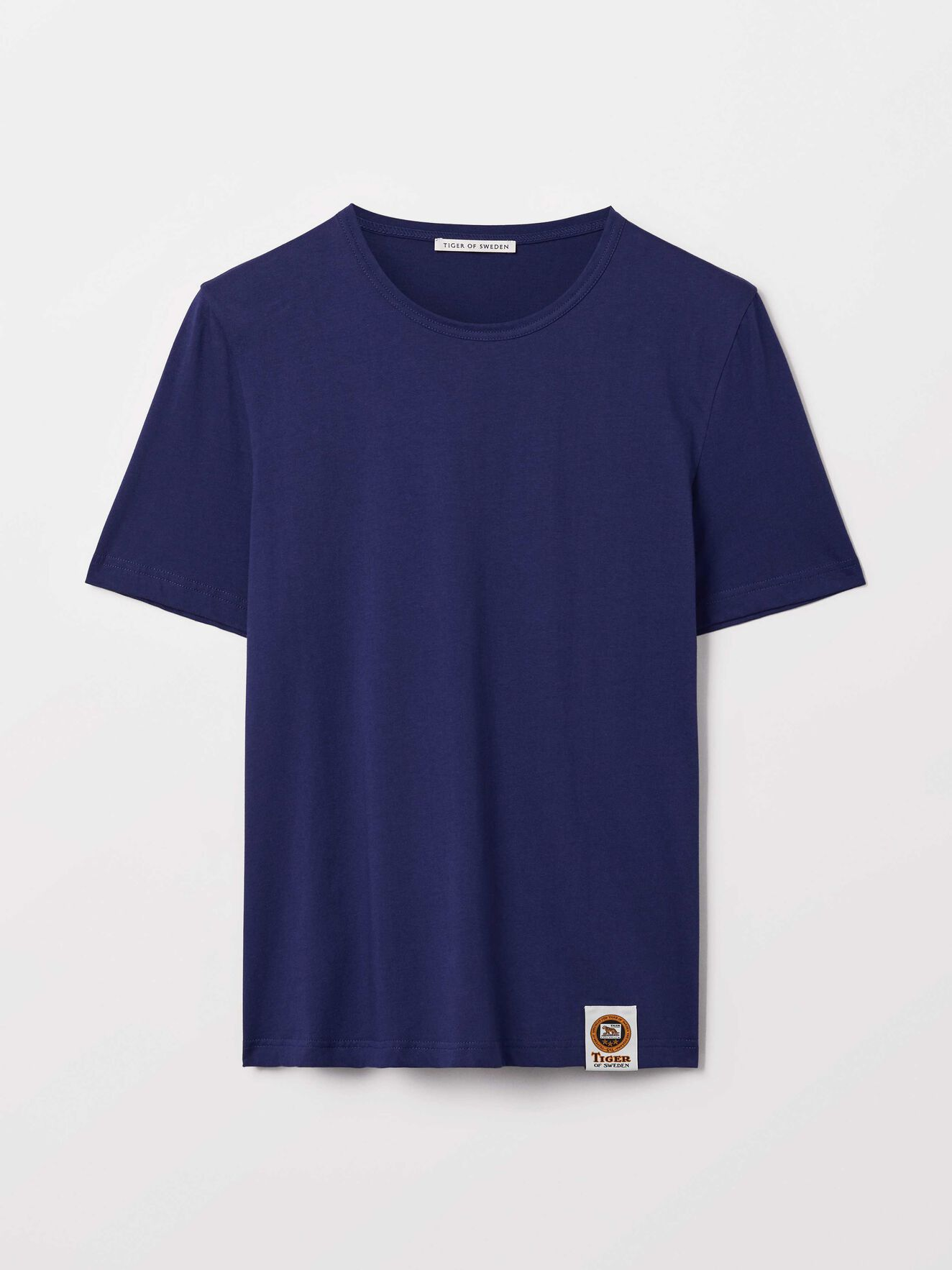 Darian T-Shirt in Deep Ocean Blue from Tiger of Sweden