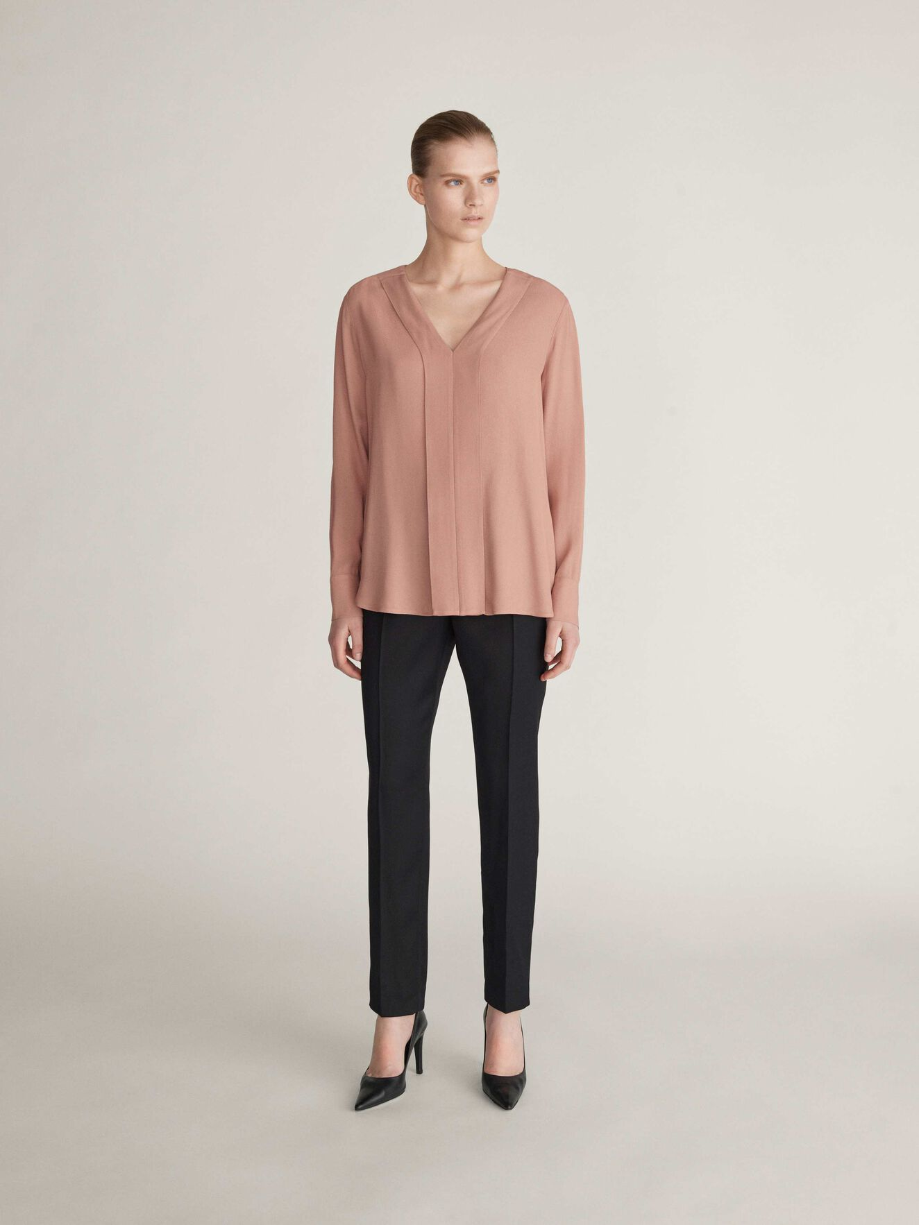 Meristem Bluse in Soft Blush from Tiger of Sweden