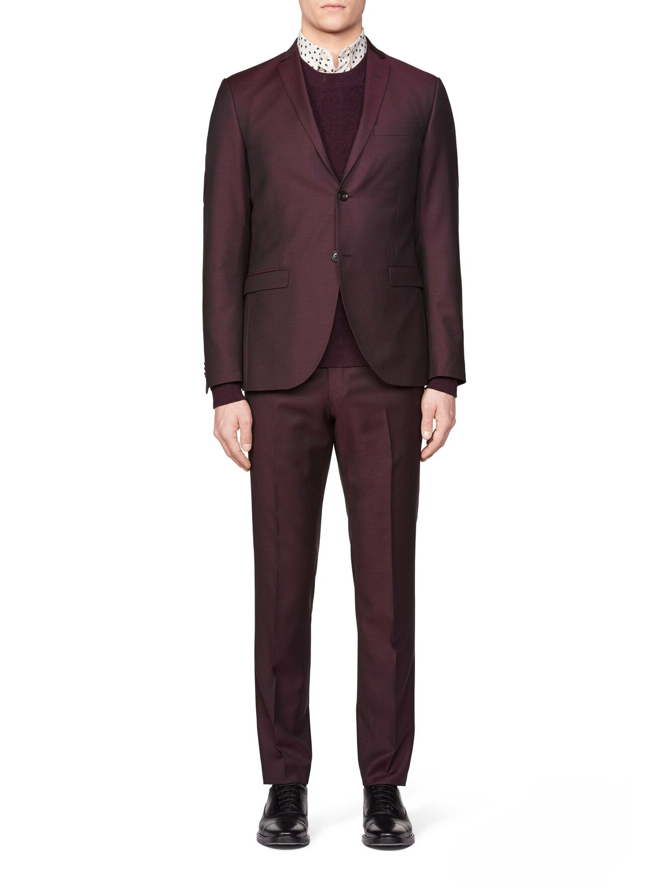 Jil 8 Suit in Dark Heather from Tiger of Sweden