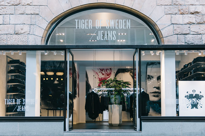 Double up for Tiger of Sweden jeans